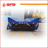 Material Handling Transfer Cart for Heavy Duty Manufacturing on Rail