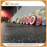 Anti-Shock Rubber Floor Tile Rubber Mat for Gym Crossfit