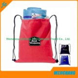 Customer Design Plain Color Non Woven Drawstring Bag