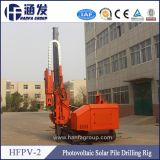Hfpv-2 DTH Hammer Drill Holes Guardrail Install Pile Driver