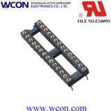 2.54mm H=3.0 15.24 S/T IC Female Base Row Spacing Hole