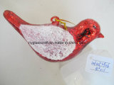 Bird Shaped Hanging Christmas Ornaments