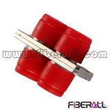 FC Sm Duplex Metal Fiber Optic Adapter