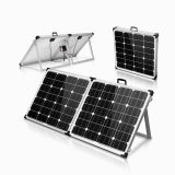 Camping Solar System 130W Foldable for Motorhome with 12V System