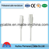 Best Sales LED Connect Cable 2 Pin Male to Male AC Power Cord in High Quality Low Price