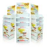 Customized Supermarket Cardboard Display Stand, Cardboard Shelf
