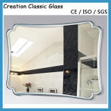 3-6mm Single Coated Aluminum Mirror Glass Sheet for Decorative Mirror