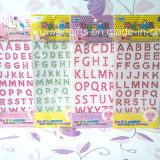Crystal Acrylic Diamond Sticker with Letter Style