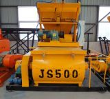 Js500 Forced Twin Shaft Concrete Cement Mixer
