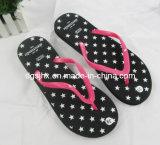 Black EVA Flip Flop Slippers