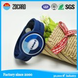 4 Colour Silicone Wristband with Printed Logo