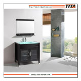 Classical Solid Wood Bathroom Cabinet (T9103)