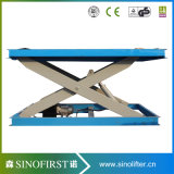 3000kg Stationary Car Scissor Car Parking Lift Platform