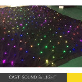 LED Light Star Vision Cloth LED Curtains for Stage Backdrops RGB LED Star Cloth
