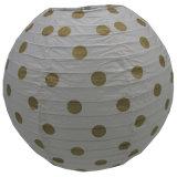 Gold DOT Printing Paper Lanterns