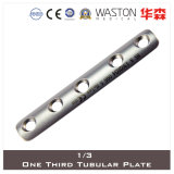 One Third Tubular Plate Made of Titanium or Stainless Steel (Ti/SS)