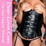 Hot Sale Plus Size Leather Lingerie Corset