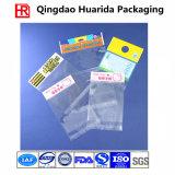 Custom Printing Transparent Self Adhesive Plastic Bag with Flap