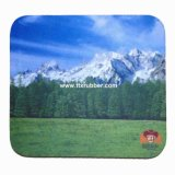 2016 Full Color Custom Printing Flexible Rubber Mouse Pads