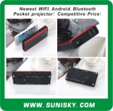 New WiFi + Android + Bluetooth Mini Pocket Projector (SMP7052)