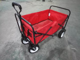Foldable Wagon Beach Wagon Cart Collapsible Wagon with Wider Wheels