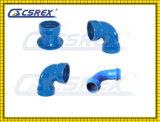 OEM Cast Iron Powder Coating Socket Bend