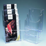 Acrylic Table Top Advertising Brochure Holder (BTR-H6015)