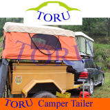 Toru Mini Camper Trailers Camping Trailer with Kitchen System