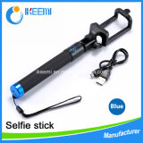 High Quality Portable Wired Selfie Stick for Mobile Phone