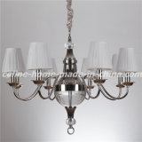 Iron Chandelier Lamp with K9 Crystal (SL2095-8)