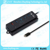 USB 3.0 Fast Speed USB Type C Hub (ZYF4013)