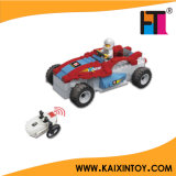 Mini RC Building Block Police Car Toy