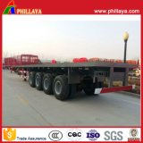 4 Axles 40FT Container Flatbed Semi Trailer Truck Long Vehicle