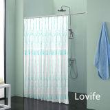 Shower Curtain Bathroom Waterproof Curtain (JG-242)
