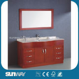 Floor Standing Modern Design Solid Wood Bathroom Furniture