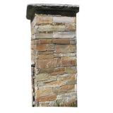 China Local Natural Slate Stone Cement Column (SMC-PC007)