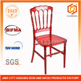 Durable Red Polycarbonate Resin Napoleon Chairs