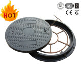 En124 A100 Waterproof Anti-Fall Net Fiberglass BMC Manhole Cover