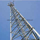 Low Cost High Quality Three Tube Communication Monopole Tower