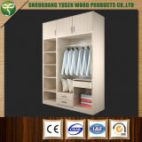 MDF Open Style Design Wardrobe Without Doors