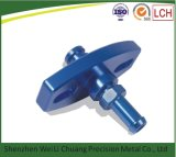 Camera Adaptor Parts Aluminum Alloy CNC Blue Anodized