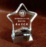 Five-Pointed Star Crystal Trophy for Rewarding Students Talent (KS04176)