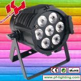 7PCS*10W RGBW 4 in 1 Mini LED PAR Can