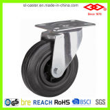 Black Rubber Industrial Caster (P101-31D075X25)