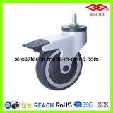 Swivel Screw Locking Caster Wheel (L503-39E125X32CS)