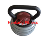 fitness accessory, professional kettlebell, Commercial Adjustable Kettlebells (HD-011)