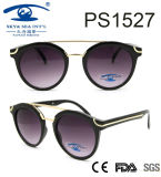 2017high quality Fashionable Style Frame Plastic Sunglasses (PS1527)