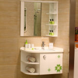Oppein Lucky Clover High Glossy Lacquer PVC Bathroom Furniture (OP11-P12-82)
