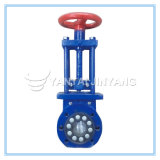 Flange Type Knife Gate Valve with Hand Wheel