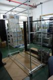 Metal Rolling Clothes Stand for Display
